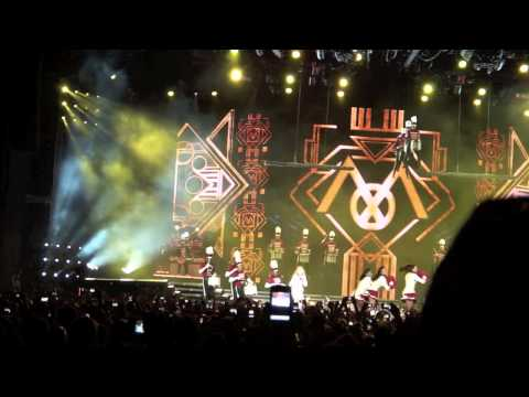 Madonna MDNA Tour - give me all your luvin  - ISRAEL Tel Aviv 31/5/2012 HD