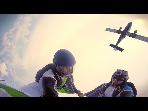 Dancing in the Sky - Wingsuit Flying