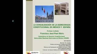 umh1188 2013-14 Lec017 La Consolidación de la Democracia Constitucional en México y España
