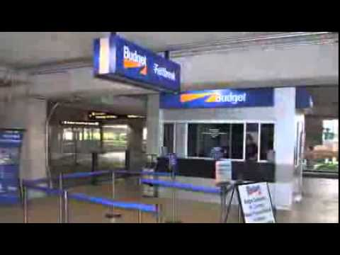 ORLANDO INTERNATIONAL AIRPORT FLORIDA USA Budget Car Rental Directions Video
