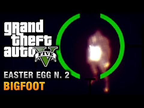 GTA 5 - Easter Egg #2 - Bigfoot