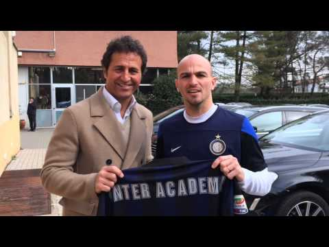 Esteban Cambiasso for Inter Academy Florida