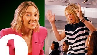 """""""I'm ready to PARTY!"""" Saoirse Ronan on her amazing Bridesmaids trick & being upstaged by Ed Sheeran."""