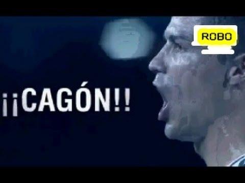 El Clásico 26/10/2013 - Cristiano Ronaldo le dice cagón a Undiano Mallenco
