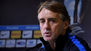 Live! Conferenza stampa Mancini prima di Inter-Sassuolo 09.01.2016 11:00CET