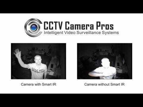 Smart IR Video Sample from CCTV Security Camera