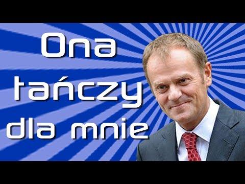 """TV jaja - Donald """"Donek"""" Tusk - Ona Tańczy Dla Mnie"""