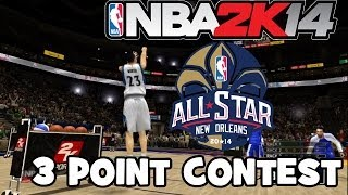 NBA 2k14 All Star Weekend 3 Point Contest