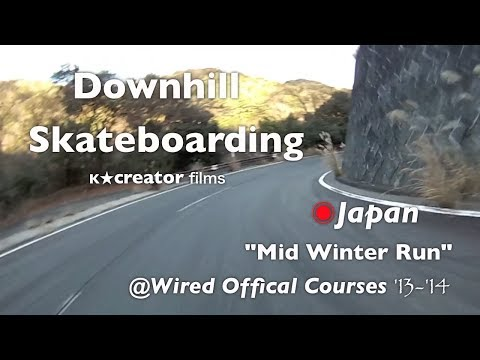 Japanâ—‰Downhill Mid Winter Run '13-'14