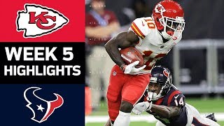 Chiefs vs. Texans   NFL Week 5 Game Highlights