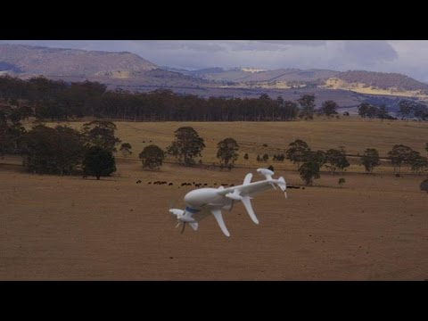 Google experiments with drone deliveries