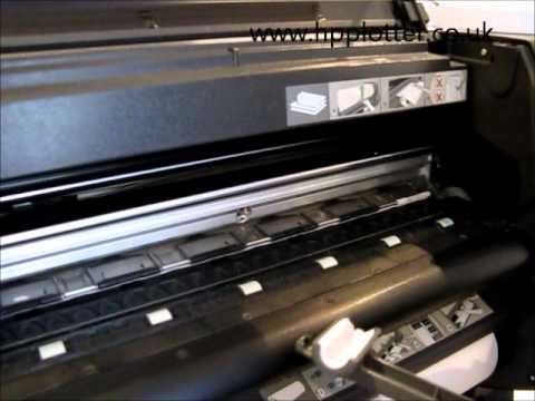 Designjet 1050c/1055cm Series - Check and resolve printhead path error on your printer