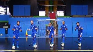 Futsal sincronizzato con gli Azzurri della Nazionale!
