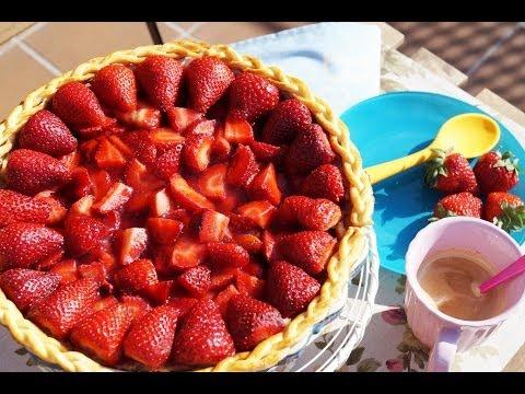 Tarta de Fresa y Masa Brisa Casera | Sanwichita
