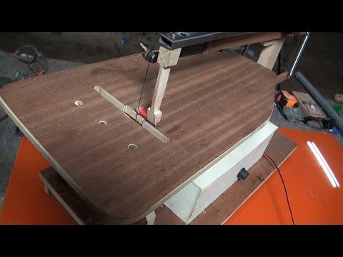 Sierra de marqueteria para manualidades - modificaciones