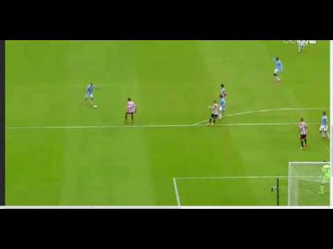 yaya toure goal vs sunderland capital one cup final 1-1