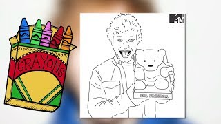 WTF! Ed Sheeran & One Direction Coloring Books Too Creepy?!