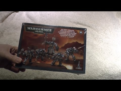 Grey Knight Paladins unboxing and review (WH40K)