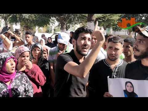 جنازة المرحومة فرح و مسيرة احتجاجية