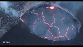 Kīlauea Summit Eruption | Lava Returns to Halemaʻumaʻu