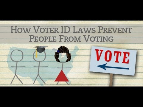 Voter ID Laws: Fake Solution to a Fake Problem