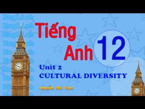 TIẾNG ANH LỚP 12 - UNIT 2 : CULTURAL DIVERSITY   ENGLISH 12