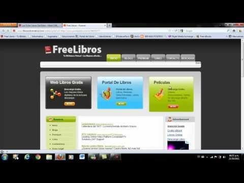 Como Descargar Libros de FreeLibros 2011