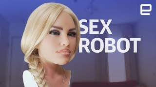 Sex Robot hands-on at CES 2018