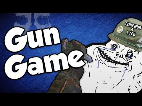 CORNER CAMPER! (Gun Game Reactions - Call of Duty: Ghosts)