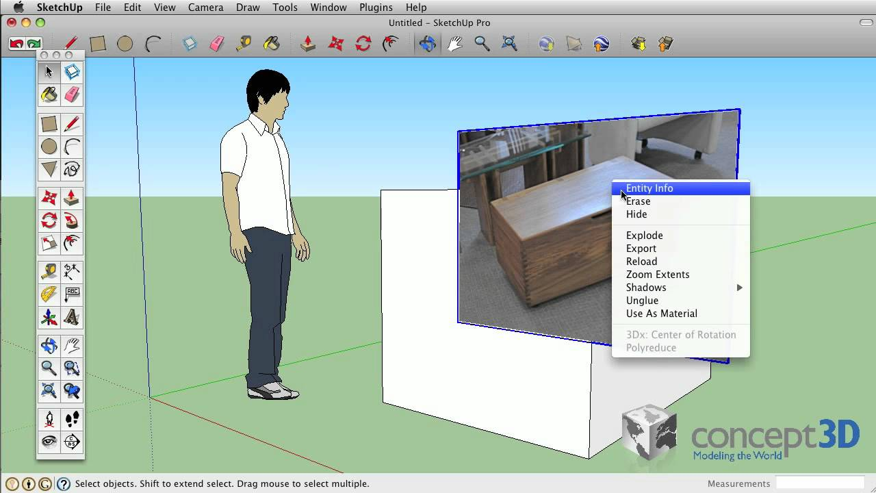 Sketchup tips and tricks image texture matched photo for Sketchup import