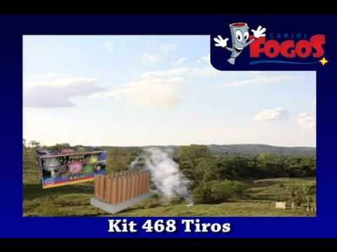 Kit 468 Tiros - Cariri Fogos
