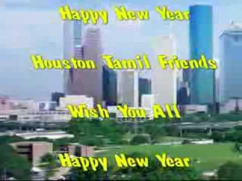 Houston Katy Tamil Friends DJ Dance Music 30 min New Year Dance Video 2014  2 - SLHS
