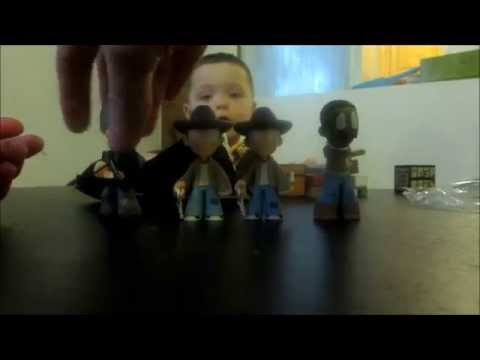 Toy R Us Toy Story Minecraft and Funko AMC Walking Dead Mystery Minis Vinyl Figures Series 2
