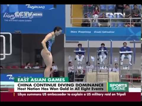 2013 East Asian Games: China continues diving dominance