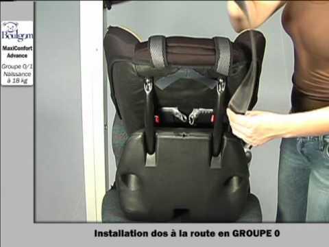 Installation du maxiconfort si ge auto groupe 0 1 boulgom for Siege auto boulgom