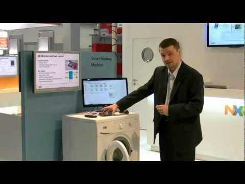 'Smarter' Smart Washing Machine: In-depth demo with NXP (NFC, RFID)
