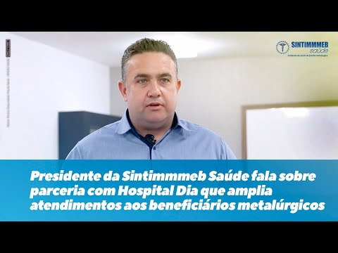 Presidente da Sintimmmeb Saúde, Eduardo de Souza,