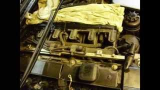 Замена прокладки крышки клапанов на двигателе M54B25