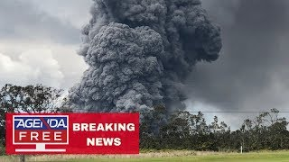 Red Warning Issued for Hawaii Volcano - LIVE BREAKING NEWS COVERAGE
