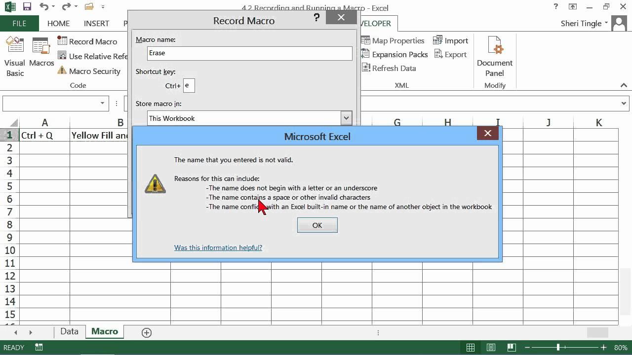 microsoft excel macros tutorial 2017