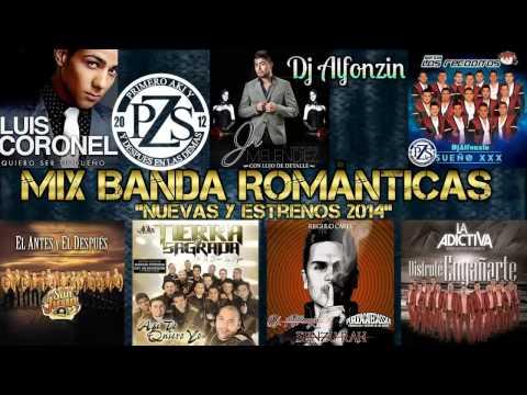 Mix Banda Romántica 2014 - 2015  Nuevas y Estrenos  - DjAlfonzin