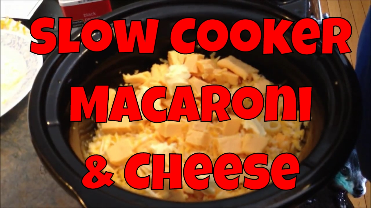Easy and Delicious Slow Cooker Macaroni and Cheese - YouTube