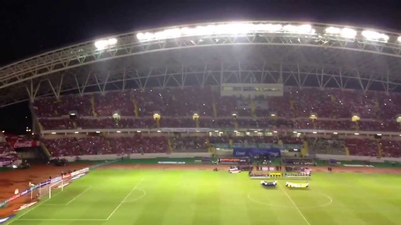 Cr vs usa himno nacional de costa rica 6 9 13 youtube for Puerta 4 estadio nacional