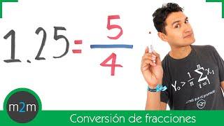 Conversión de una fracción a decimal