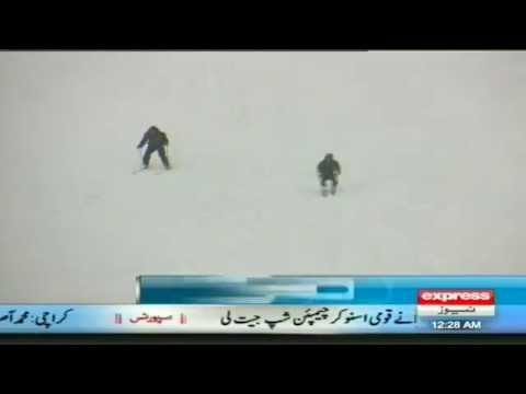 swat snow festival  in malam jabba by sherin zada