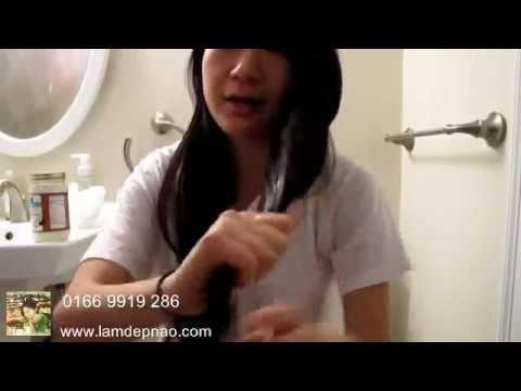 Hướng dẫn ủ tóc bằng Dầu Dừa đúng cách | LAMDEPNAO.COM