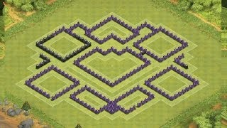 Clash Of Clans: ULTIMATE TH10 DEFENSE BASE