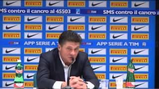 Inter, Mazzarri: 'Medel non era da rosso. Nessun problema con Icardi'.