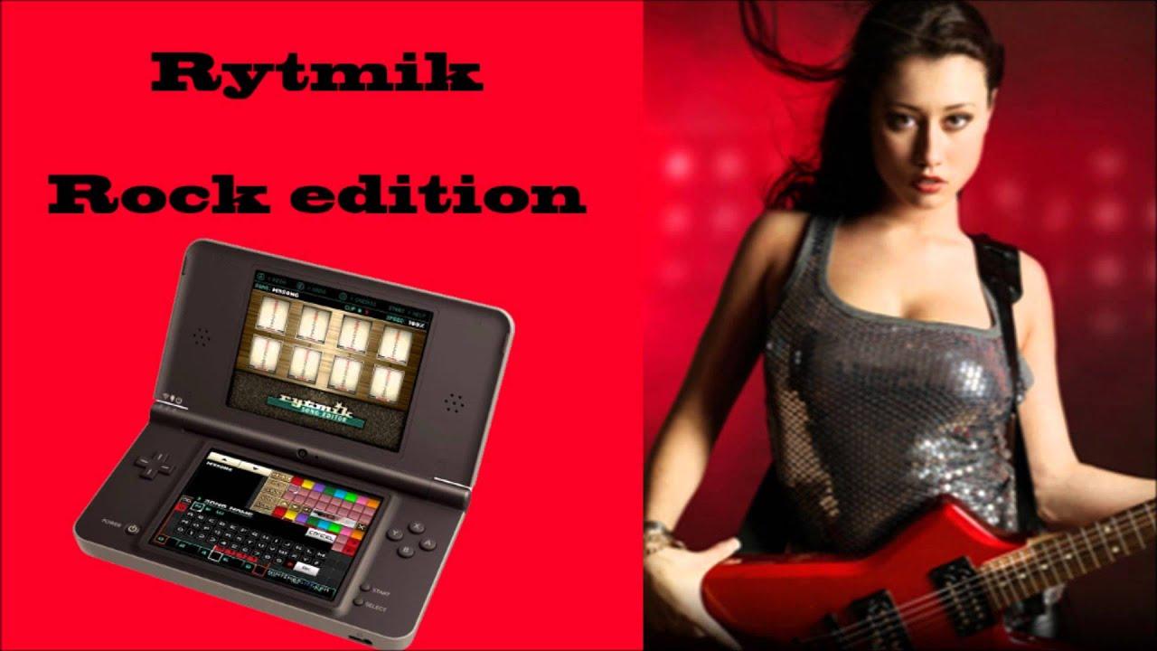 rytmik rock edition, nintendo dsi xl, geezer by geezerdk