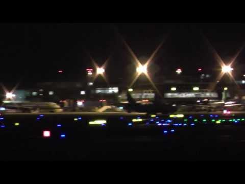 Dublin Airport at Night Dublin Airport in Night